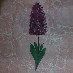 Marbling Art Flower Ebru