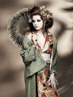 Blushing Geisha Photography - Kelly Rihanna by Peter Coulson Features Modern Oriental Style (GALLERY)
