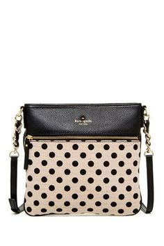 ellen polka dot crossbody
