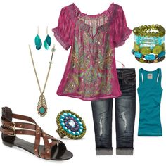 Bring on Summer!, created by marian-gassmann on Polyvore...I'm going to have to check out this website.