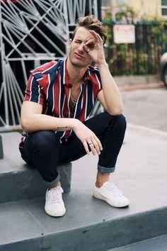 Talking Denim with Topman Mens Fashion Mode Masculine, Men Looks, Mode Instagram, Streetwear, Moda Blog, Casual Outfits, Men Casual, Men's Outfits, Man Style