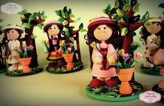 Filigrana - Quilling en Chile: Muñecas Filigrana 3D - quilling