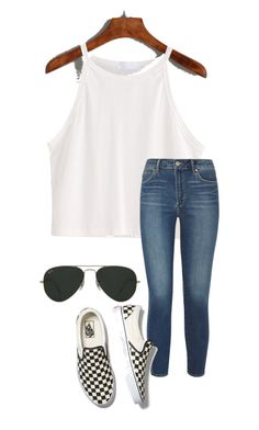 """""""Shade"""" by kahleacia-1 on Polyvore featuring Articles of Society, Vans and Ray-Ban"""