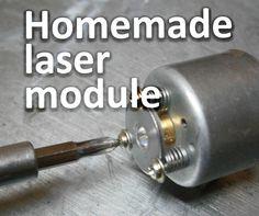 Homemade laser module