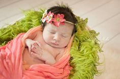 #newborn #newbornphotography #girl #pink #coral Www.alexandradmillerphotography.com