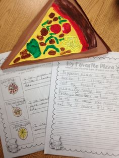 The Lesson Plan Diva: My Opinion Writing- It's Pizza Time!