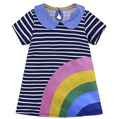 Duck Hotchpotch Dress 0 to 4 Years NEW Beautiful ex Baby Boden Stripe