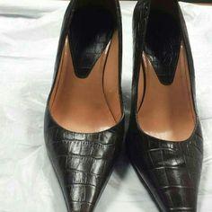 Ann Taylor Shoes Crocodile print ---3 inch heel Ann Taylor Shoes Heels