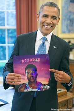 With the world in BAD SHAPE !!Obama says check that Chance the Rapper. WORST LEADER EVER