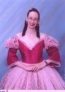 Julliet's Fantasy was my fantasy medieval gown and one of my favourites. 1999.