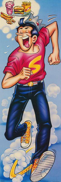 Door Poster Comics Archie Comics Jughead Free Shipping RAP4 C   eBay Archie Comics Jughead, Dc Comics, Archie Betty And Veronica, Archie Comics Riverdale, Famous Cartoons, Fandoms, Classic Comics, Comic Page, Comic Covers
