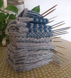 Wool Socks, Knitting Socks, Knitting Patterns Free, Free Pattern, Yarn Crafts, Diy Crafts, Different Stitches, Knitting Projects, Handicraft