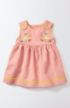Free shipping and returns on Mini Boden Pretty Tea Dress (Baby Girls & Toddler Girls) at Nordstrom.com. Perfect for a tea party with her favorite stuffed friends, this pretty patterned dress features rickrack trim at the collar, sleeves and pockets.