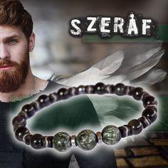 🛡️ANGYALI GONDVISELÉS🛡️ Szeráf - prémium ásvány karkötő szerafinittel, obszidiánnal és vérkővel Rings For Men, Bracelets, Jewelry, Bangle Bracelets, Jewellery Making, Men Rings, Jewerly, Jewelery, Jewels
