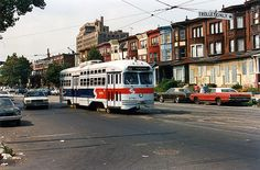 SEPTA RT.56 AT 10TH. AND ERIE 1988