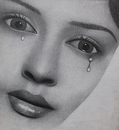 Realistic Portrait in Pencil