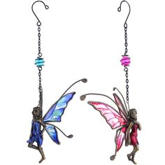 Wholesale Pewter fairy hanger - Something Different