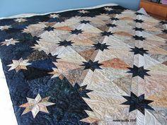 mmm quilts beautiful Hunter Star