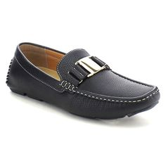 J's Awake Boston-21 Men's Comfort Driving Moccasin Style Slip On Loafers