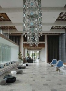 How to Make Hotel Reservations to Get Good Deals: Ecletic Hotel Reservations Area With Grey Floor Tiles And Modern Pendant Lighting With Ceiling Design With Modern Interior Design Inspirations Modern Floor Vases ~ surrealcoding.com Furniture Inspiration