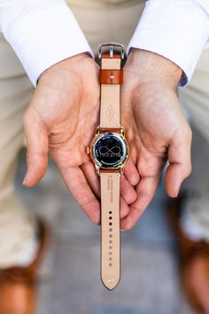 groom watch with wedding date and infinity symbol on the back #paradisecove #orlandowedding #weddingday #groomwatch Wedding Gifts For Parents, On Your Wedding Day, Groom And Groomsmen Looks, Paradise Cove, Infinity Symbol, Orlando Wedding, Parent Gifts, Groomsman Gifts, Wedding Groom