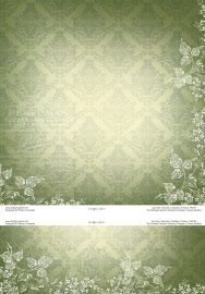 p6373 damask in shades of green
