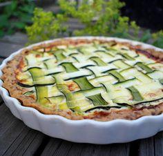 KINKKU-PEKONIPIIRAKKA KESÄKURPITSALLA   Saaranlautasella Cucumber, Zucchini, Sandwiches, Food And Drink, Pizza, Vegetables, Healthy, Blog, Recipes