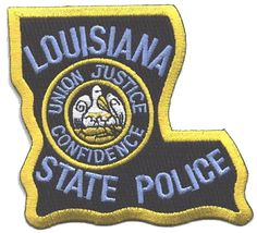 louisiana state police patch | in 1922 the louisiana highway commission was created and given the ...