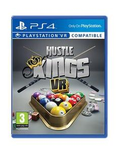 Playstation Vr Hustle Kings – Playstation Vr Compatible – Ps4 – Very – Now £14.99 Was £52.99 #ps4 #vr #hustlekings #compatible
