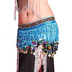 PanDaDa belly dance hip scarves - Free belly dance classes