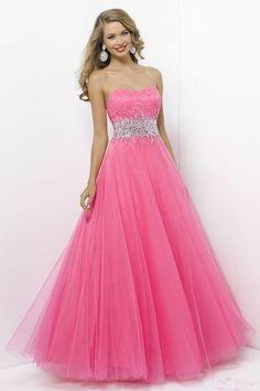 prom dresses prom dresses for teens prom dresses long 2014 strapless ball gown tulle beaded floor-length prom dress