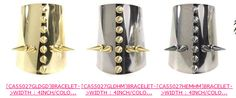 spiked cuff bracelets Just $15.00 each
