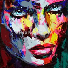 High Quality Abstract Face Painting-Buy Cheap Abstract Face ...