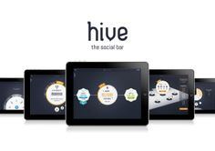 Hive, the social bar - Overview by Aline Kesting, via Behance