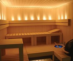 Each pattern begins with a steam bath, and its interior should be to equip a very comfortable and cozy. The sauna and steam all should be harmonious, in the bath are not welcome flashy and fanciful shapes, and bright colors are not welcome. The sauna… Sauna A Vapor, Sauna Seca, Indoor Sauna, Portable Sauna, Traditional Saunas, Sauna Design, Finnish Sauna, Sauna Room, Basement Sauna