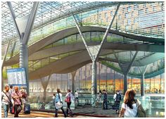 The Return Of The Grand Train Station - SkyscraperCity