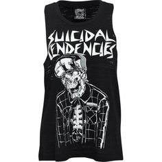 Metal Mulisha Suicidal Tendencies Muscle Tank as seen on Mischa Barton