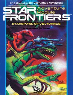 Star Frontiers: (SF2) Starspawn of Volturnus - Wizards of the Coast | DriveThruRPG.com