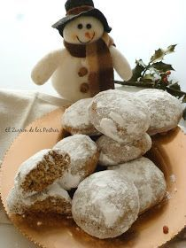 Christmas Cooking, Christmas Eve, Xmas, German Cookies, German Desserts, Brownie Cookies, Muffin, Dessert Recipes, Food And Drink