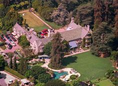 The Playboy Mansion is for Sale: Pool, Grotto, and Hef Included: History of the Playboy Mansion West