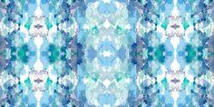 Tye Dye Azul e Verde/Blue and Green Tye Dye