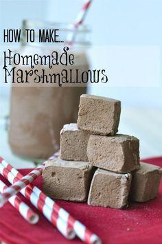 Homemade marshmallow recipe #homemade #marshmallow