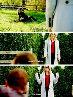 """""""Sorry to interrupt... weirdness"""" - Felicity, Kendra and Carter #Arrow"""