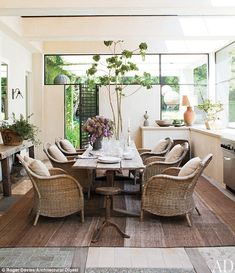 Bringing the Outdoors In: Ellen & Portia's house in Architectural Digest