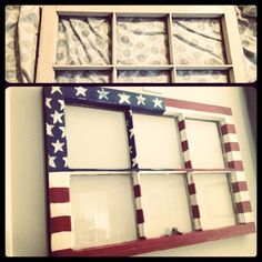 Make your July decorations even more crative and special with DIY Patriotic Day wooden crafts. These wood working projects are perfect for summer. Americana Crafts, Patriotic Crafts, July Crafts, Old Window Projects, Craft Projects, Shutter Projects, Auction Projects, Wood Projects, Craft Ideas