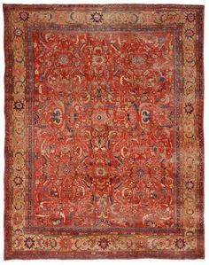 Mahal Antique Persian Rug from Woven Accents