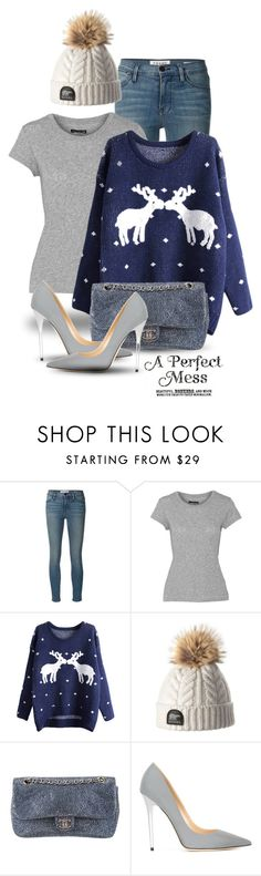 """Dec 22nd (tfp)"" by boxthoughts ❤ liked on Polyvore featuring Frame Denim, rag & bone, Chanel, Jimmy Choo and tfp"