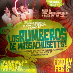 Join us at Boston's Friday Night Destination. Pachanga is a stylish, upscale Latin dance party featuring a fusion of lounge, salsa, reggae, merengue and other tropical genres.    Naga Night Club 450 Massachusetts Ave. Cambridge, MA 02140 Tables/Info - Bottle Specials available, contact jason@nagacambridge.com or 857 991 7164 Website: www.nagacambridge.com Like us on Facebook: Naga Follow us on Twitter: nagacambridge