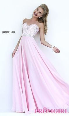 I love Sherri Hill's prom dresses (even though they're really expensive)... i can still dream though