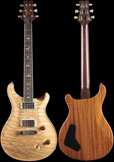 PRS Wood Library Ted McCarty DC 245 Natural Quilt Rosewood Neck (503)